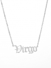 Constellation Letter Easy Matching Necklace For Women