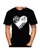 Casual Short Sleeve Printed T Shirts