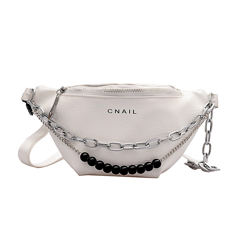 Easy Matching Beaded Thick Chain Crossbody Bags