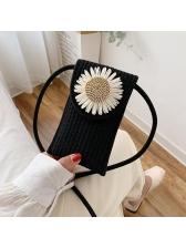 Thin Strap Flower Mini Crossbody Phone Bags