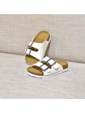 Simple Buckle Decor Women Stylish Slippers