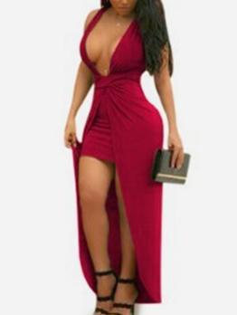Sexy Low-Cut Sleeveless Night Club Dresses For Women