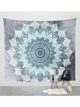 Polyester Material Bohemian Print Blanket For Beach