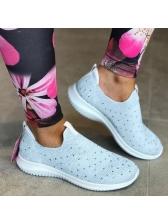 Sporty Dots Flat Women Cheap Sneakers