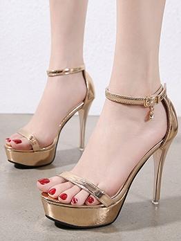 Fashion High Heel Platform Summer Sandals