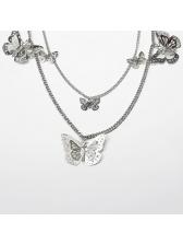 Creative Mash-Up Butterfly Tassel Hip-Hop Waist Belt