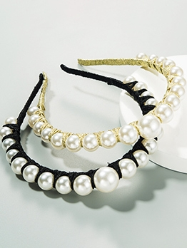 White Faux Pearl Hot Sale Party Accessories Hair Band