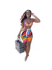 Colorful Halter Sexy Women Bikini Sets