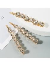 Fashion Rhinestone Three Pieces Sets Hair Accessories