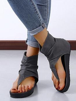 Euro Flip Flop Flat Ladies Sandal