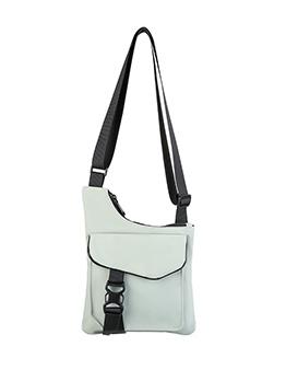 Casual Style Plastic Buckle Unisex Nylon Crossbody Bags