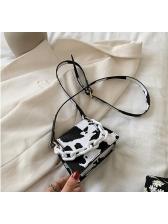 Animal Grain Thick Chain Cute Mini Crossbody Bags