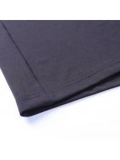 Button Up Neckline Long Sleeve Bodycon Dress