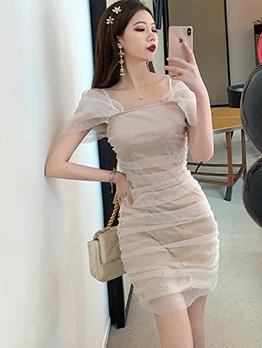 Fashion Sequins Slip Party Dresses