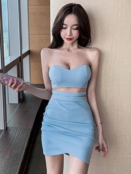 New Arrival Strapless Bodycon Dress Women
