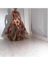 Sequins Sleeveless Evening Dresses
