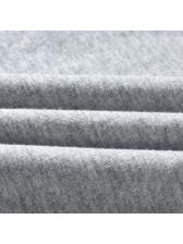 Sporty Style Short Sleeve Shorts Set For Kids