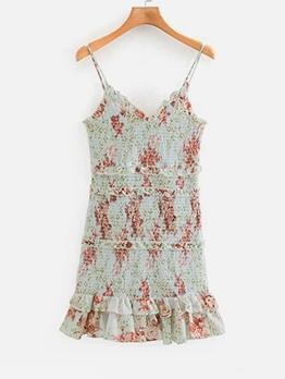 Summer Mini Camisole Ladies Dress