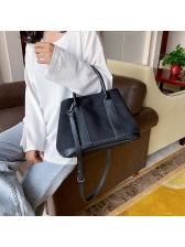 Color Patchwork Large Capacity Ladies Handbags
