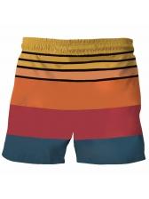 Cock Printed Casual Short Pants For Men