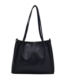 Minimalist Style Pure Color Ladies Work Tote Bags