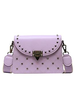 Detachable Wide Belt Rivets Threaded Shoulder Bags