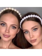 Creative Full Faux Pearl Hair Accessory For Women