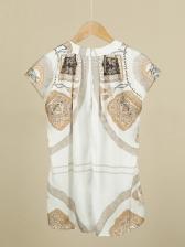 Minority Printed Hip-Hugging Skirt Sets For Women