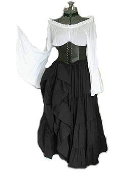 Literature Sexy Flare Sleeve Plus Size Maxi Dress