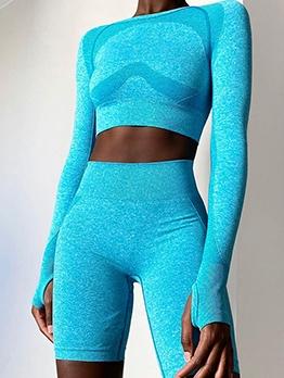Breathable Skinny Yoga Sport Trouser Set