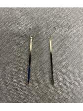 Simple Design Dangle Bar Earrings