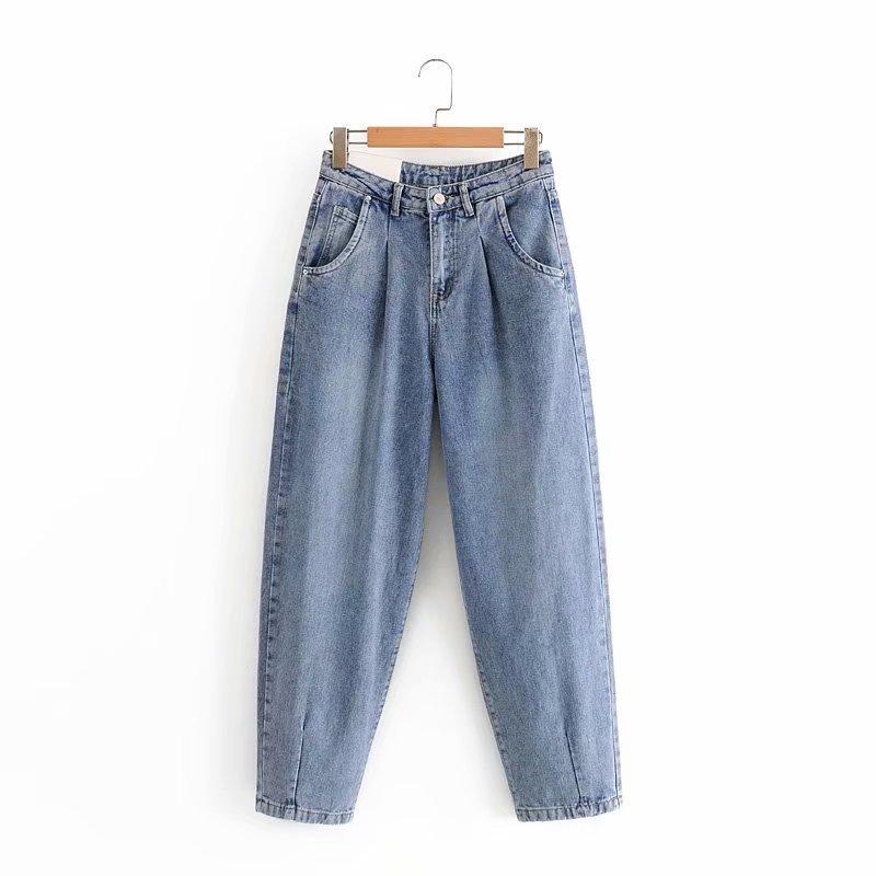 Easy Match Fashion Women Denim Jeans