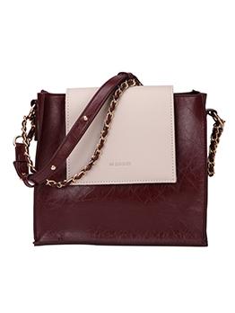 Vintage Style Color Block Shoulder Bags