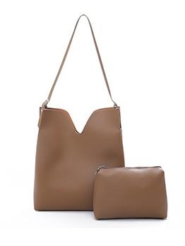 Casual Solid Color 2 Piece Shoulder Bags