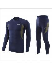 Casual Thermal Leggings 2 Piece Mens Activewear