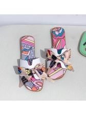 Bow Knot Beach Summer Slippers