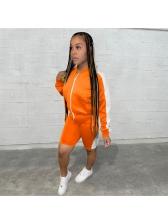 Sport Casual Women Coat Two Pieces Set