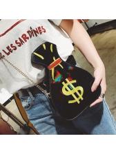 Retro Pop Purse Colourful Women Shoulder Bag
