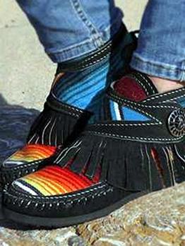 Hot Sale Tassels Women Slip On Shoes