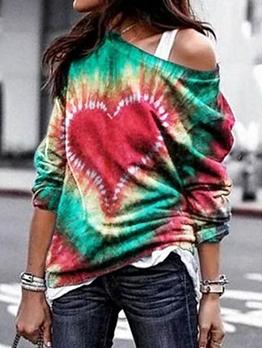 Loose Tie Dye t Shirts For Women