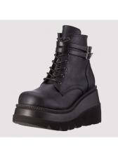Euro Laser High Platform Boots For Women