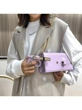 Solid Pistol Little Bread Women Shoulder Bag