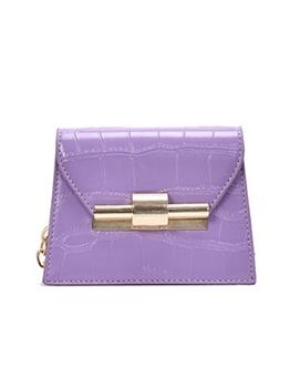Chic Candy Color Chain Mini Shoulder Bag