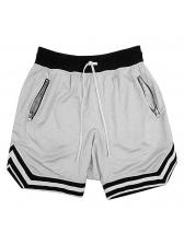 Training Contrast Color Short Pants For Men