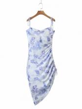 Sexy Drawstring Slip Sleeveless Summer Dresses