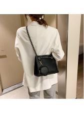 Summer Simple Solid Fashion Shoulder Bag