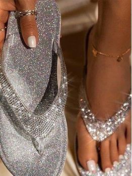 Simple Beach Women Flip Flop Slippers