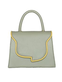 Trapezoidal Removable Belt Solid Ladies Handbags