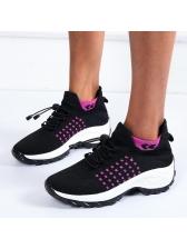 Breathable Flat Women Elevator Sneakers