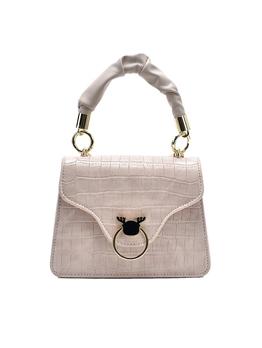 Simple Korean Plaid Solid Women Shoulder Bag